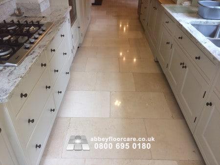 Limestone Polishing Stockton Brook Stoke On Trent Staffordshire St9 Abbey Floor Care 00019