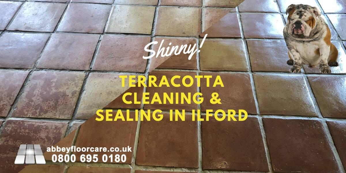 Lovely Terracotta Floor In Ilford