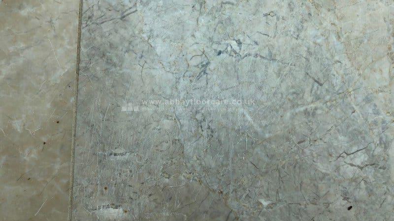 Marble Polishing Langstone Newport Before 03 Abbey Floor Care