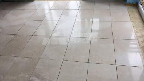 marble polishing nottingham sandiacre - before