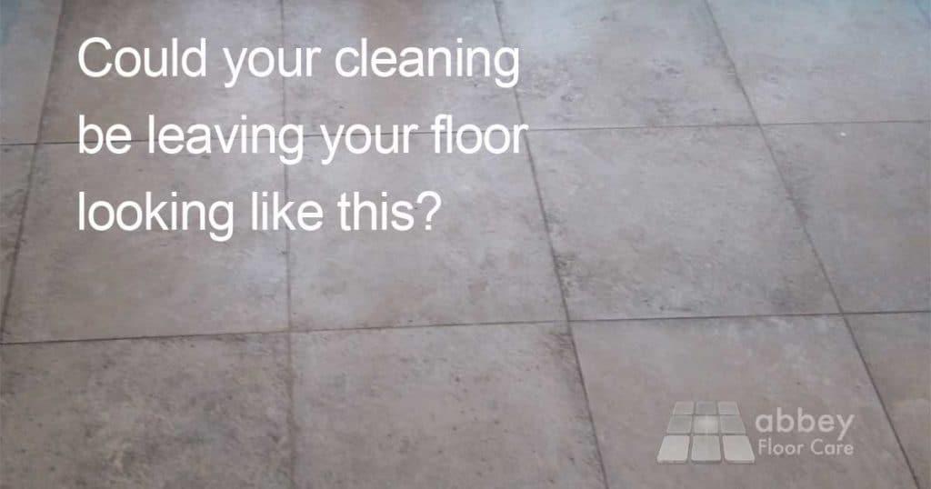 best way to clean stone tile floors