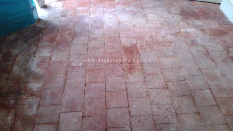 Quarry Tiles Cleaning Oakham Rutland Abbey Floor Care