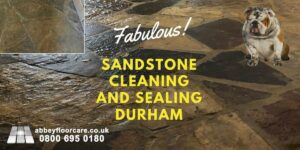 Sandstone Cleaning Sealing Durham Lanchester