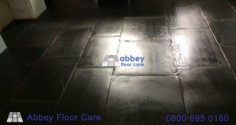 slate cleaning sealing coris abbey floor care www.abbeyfloorcare.co .uk00009