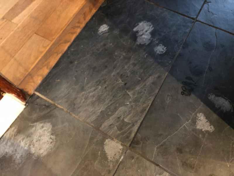 Slate Repair Gamston Abbey Floor Care
