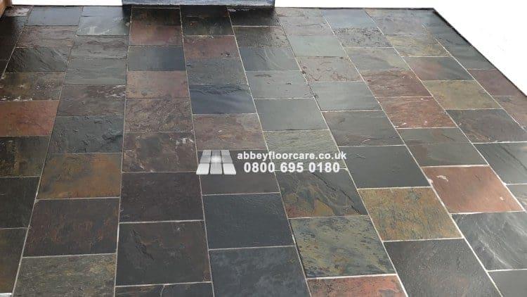 Slate Sealing Barnes Abbey Floor Care 00001