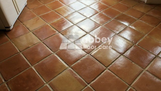 Terracotta Tile Sealing London Ilford Ig3 Abbey Floor Care 0800 695 0180