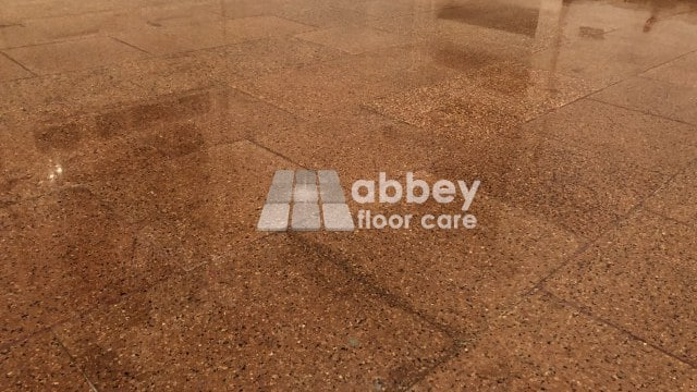 Terrazzo Polishing Ironbridge Shropshire Abbey Floor Care