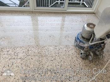terrazzo polishing kinver abbey floor care grinding terrazzo 1