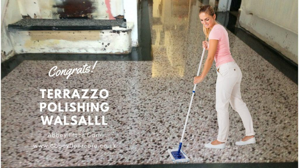 terrazzo hallway polishing walsall west midlands