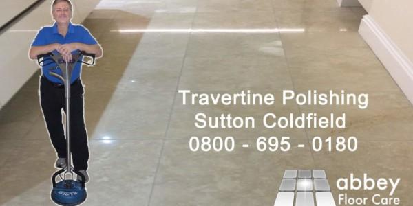 travertine polishing sutton coldfield - Abbey Floor Care