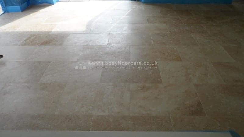 Travertine Cleaning Sealing Keswick Cumbria Abbey Floor Care 00003