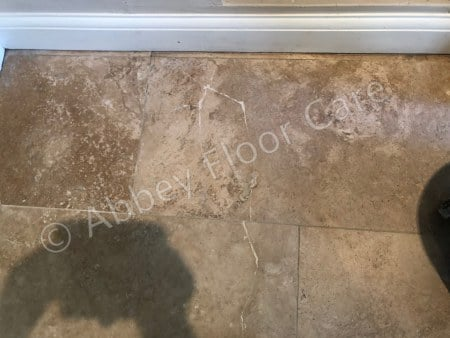travertine crack repair new malden london