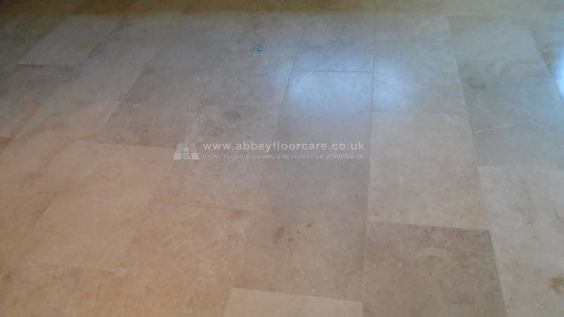Travertine Polishing Biggleswade Abey Floor Care 00006