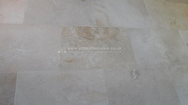 Travertine Polishing Biggleswade Abey Floor Care 00007