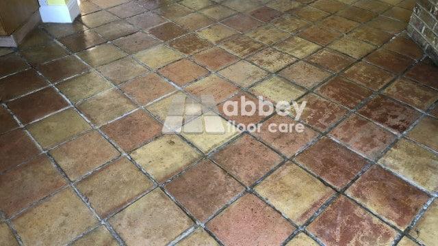 Ugly Terracotta Floor In London