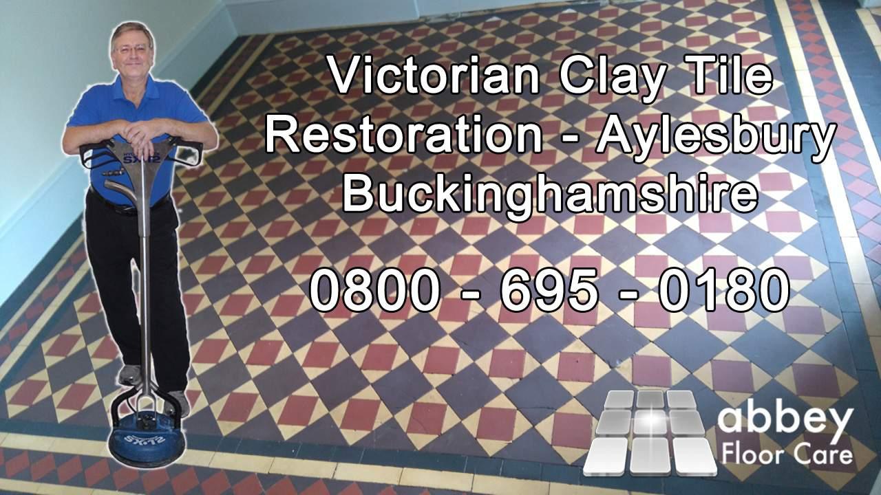 victorian clay tile restoration aylesbury buckinghamshire image