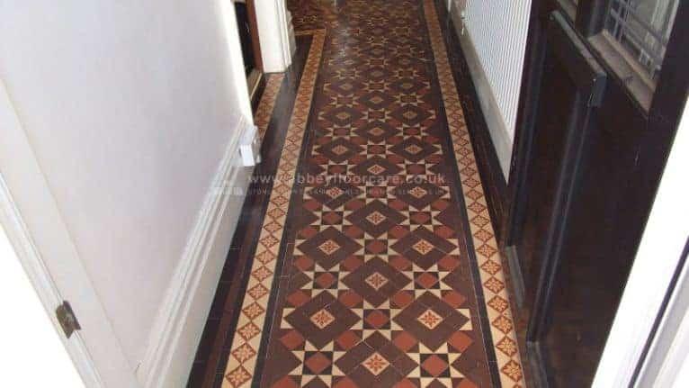 Victorian Tile Cleaning Littleover Derby After 03