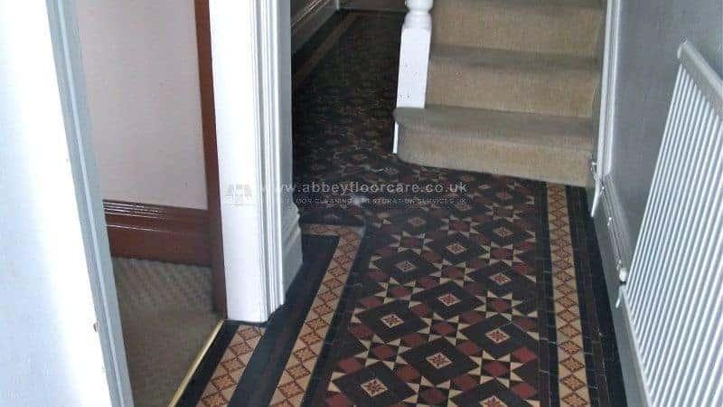 Victorian Tile Cleaning Littleover Derby After 04