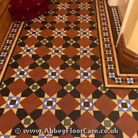 Victorian Minton Tiles Cleaning Matlock