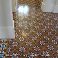 Victorian Minton Tiles Cleaning Nottingham