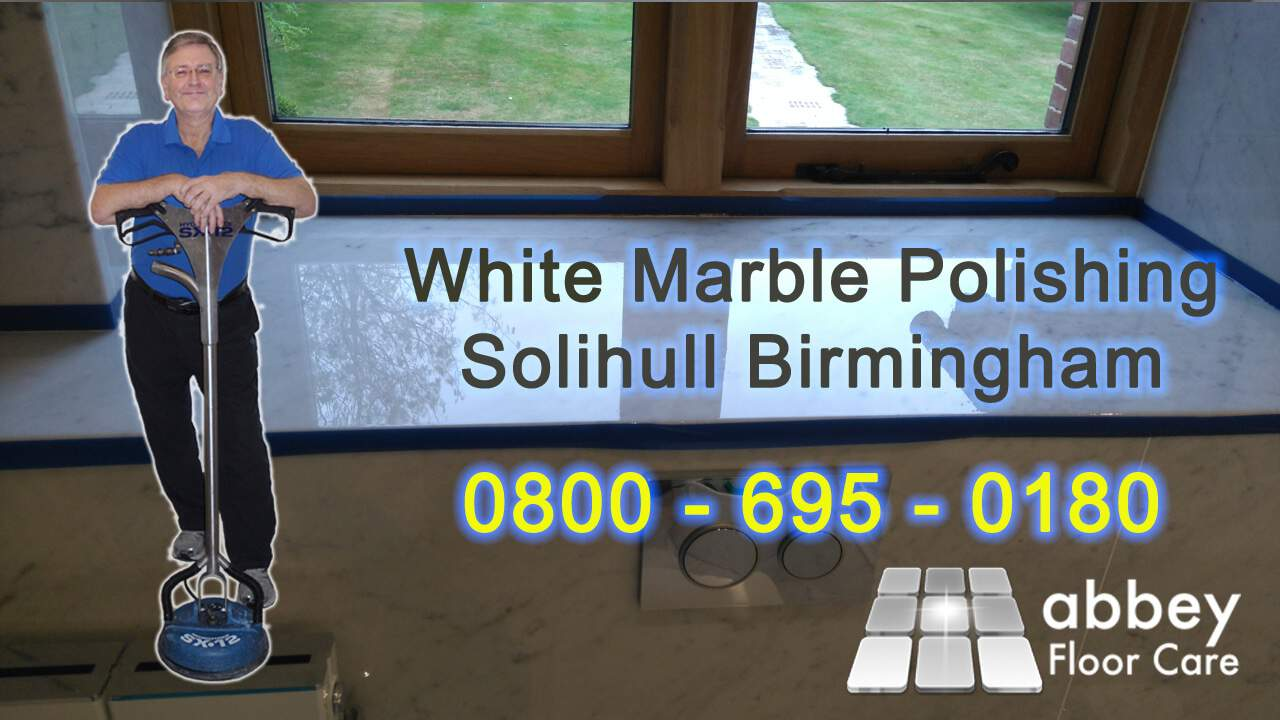 white marble polshing solihull birmingham b94